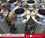 Фабрика поставляет шланг тефлона нержавеющей стали в 1 метр заплетенный проводом PTFE с соединением фланца