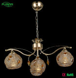 Illuminazione del lampadario a bracci del ferro all'indicatore luminoso della Doubai e della Cina Penant