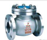 El acero de molde ensanchó la válvula de verificación de oscilación del extremo (H44)