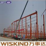 Edificio de acero de la construcción del bajo costo de la luz prefabricada rápida del almacén