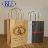 Bolsas de papel recicladas de Brown Kraft