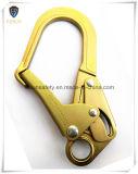 造られた鋼鉄安全黄色亜鉛によってめっきされるロープのスナップのホック