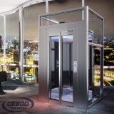 Alzare elevatore domestico di vetro del passeggero residenziale personale della Camera il mini piccolo