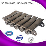 Lega /Carbon Steel Cast Conveyor Chain per Paper Roll