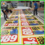 Ventas al por mayor Digitaces impresas haciendo publicidad de las banderas del PVC (TJ-011)