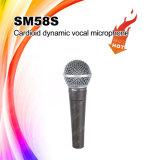 Microfono collegato vocale tenuto in mano di Skytone Sm58s