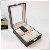 Unità di elaborazione Leather Handmade Luxury Displays Watch Box per visualizzazione