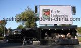Calle que hace publicidad de la tarjeta de pantalla video al aire libre de P6 LED