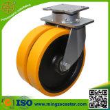 rotella industriale resistente del ghisa dell'unità di elaborazione della macchina per colata continua della parte girevole di 150mm