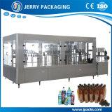 Automatische Trinkwasser-Flaschenreinigung füllende mit einer Kappe bedeckende Maschine 3 in-1