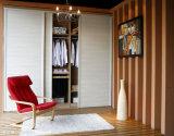 Rote Eichen-festes Holz-Garderoben-Schränke