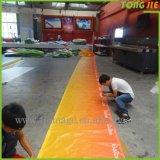 In linea fare la stampa di configurazione di disegno creare la bandiera riflettente della flessione della stella di Frontlit
