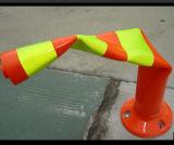 1.1m Fluorescent Orange Spring Lock Posts