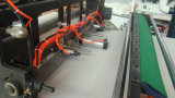 고속 다시 감기 가장자리 트리밍 수건 조직 회전 기계 장비
