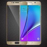 Película balística do protetor da tela da tampa cheia do protetor da tela do LCD do vidro Tempered para a nota 5 da galáxia de Samsung