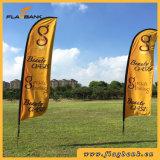 bandeira portátil da pena da fibra de vidro da promoção do evento de 3.9m/bandeira do vôo