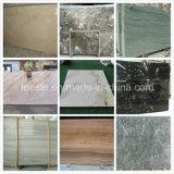 Mármore de pedra natural branco/amarelo/preto/o vermelho/verde para o assoalho/parede