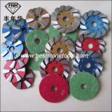 훅을%s 가진 CD-14 다이아몬드 금속 닦는 패드 & 콘크리트를 위한 루프백