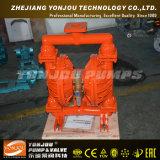 Pressluftbetätigter pneumatischer Membranpumpe-Teflon