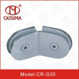 Le double de 135 degrés a dégrossi pièce de douche la fixation qu'en verre coupe (CR-G35)