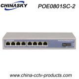 8ポートPoe 1ポートScは高めたギガビットPoeスイッチ(POE0801SC-2)を