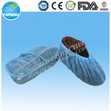 Medizinische chirurgische hygienische pp.-Schuh-DeckelOvershoes mit elastischem Band