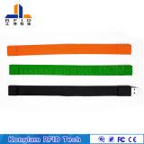 주문을 받아서 만들어진 색깔 U 디스크 실리콘 RFID 소맷동