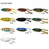 Attrait doux artificiel de pêche de la grenouille 11.5g de P.R.-Fgc d'amorce