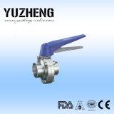 Fabricante de China de la válvula de mariposa del acero inoxidable