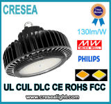 Alto UFO dell'indicatore luminoso della baia del LED rotondo per il magazzino industriale