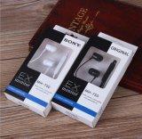 Auriculares bajos ruidosos del teléfono celular del en-Oído de la materia fresca de la promoción para Sony
