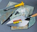 """12 """" Trowels aguzzi medi di lavoro di muratura del acciaio al carbonio con la maniglia di legno"""