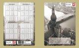 Cuaderno cuadrado de papel del Hardcover de la alta calidad en las existencias los 220*170cm