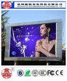 Visualización de LED al aire libre al por mayor y alta del brillo P8 con la cabina de aluminio
