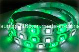 Striscia di SMD 2835 LED contro l'indicatore luminoso della corda differente