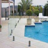 Espita vidrio abrazadera de cristal para la valla de la piscina