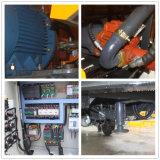 Pequeño remolque de hormigón bomba de mezcla con JS500 en Venta