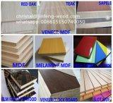 Teakholz-Farben-Furnier-Blatt MDF der AA-Grad-Möbel-1220*2440mm