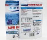 Gedruckter Waschpulver-verpackenbeutel/verpackendes/seitliche Stützblech-Plastikverpackung Wäscherei-Reinigungsmittel
