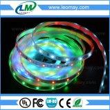 Tiras programáveis do diodo emissor de luz da luz de tiras WS2811 do diodo emissor de luz de Digitas SMD5050 RGB