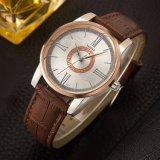 Lederne Armbanduhr 3ATM der Qualitäts-377 imprägniern Mann-Uhr von Yazole