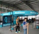 Disegno modulare della cabina di mostra della Cina con lo sguardo moderno
