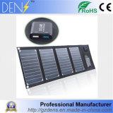 carregador Foldable do painel 20W solar para o uso ao ar livre