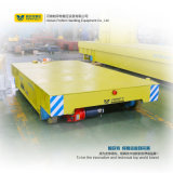 25 Ton Motorized Transfer Car Foundry Plant Transporte de trilho Trolley