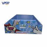 Lustiges Tellersegment der Spielwaren-PappePDQ mit LCD-Bildschirm für Toysrus
