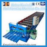 機械を作るライン波形の金属の屋根瓦を形作る鉄シートロール