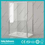 Porte coulissante de douche de première qualité de rectangle avec le bâti d'alliage d'aluminium (SE904C)