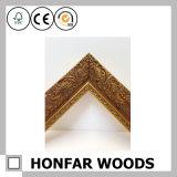 Frame de madeira da foto da caverna do homem para a decoração da parede