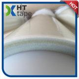 シリコーンの接着剤が付いている白いグラスクロスの絶縁テープ