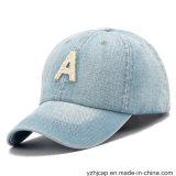 Chapeau promotionnel de denim de broderie de sports de broderie de chapeau de coton fait sur commande de Burshed
